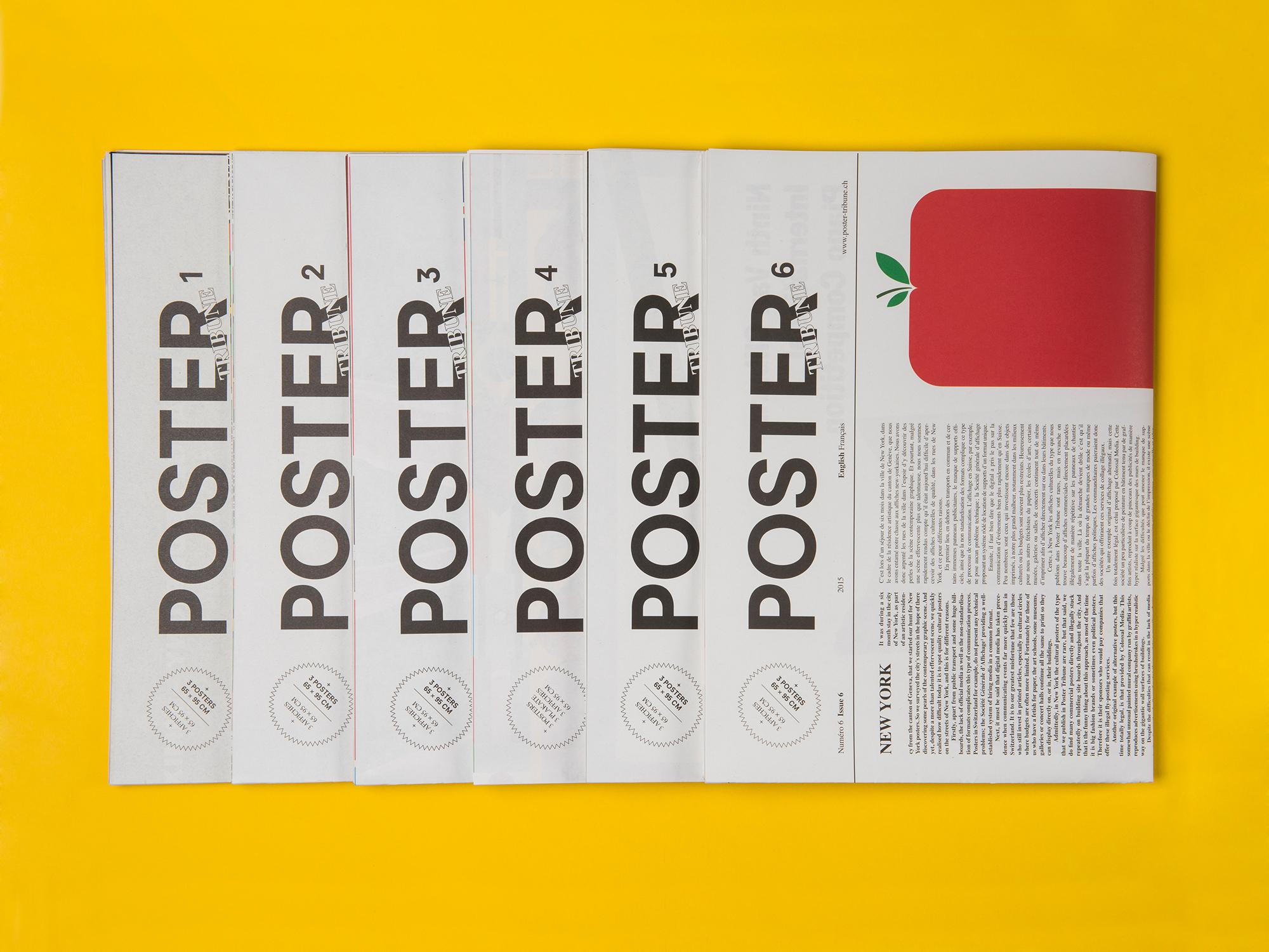 Neo Neo - Graphic design Geneva - Switzerland - Poster Tribune